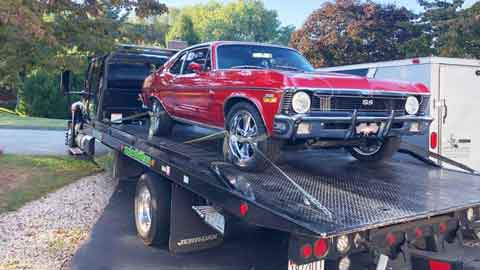 Luxury Car Towing Rosedale, MD